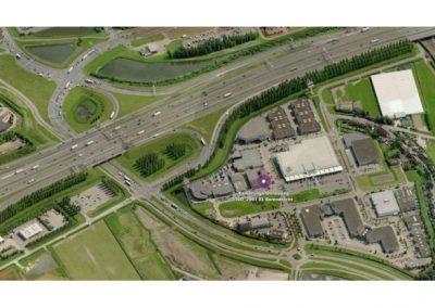 luchtfoto ligging Barendrecht