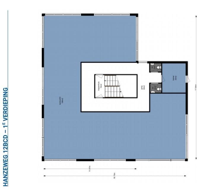 Eerste verdieping D